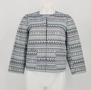 The Loft Zip Boho Jacket Size S
